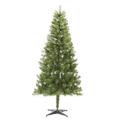Artificial Christmas Tree Assembly Instructions.6ft Unlit Slim Artificial Christmas Tree Alberta Spruce Wondershop