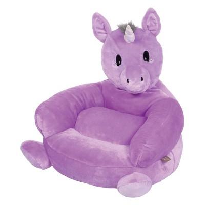 Unicorn Plush Character Chair Purple - Trend Lab