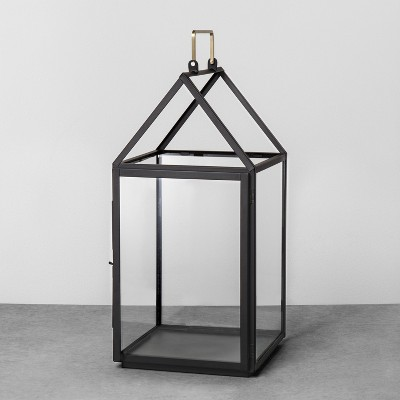 House Lantern Large - Black - Hearth & Hand™ with Magnolia