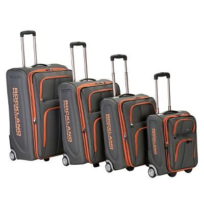 Rockland Varsity Polo Equipment 4pc Luggage Set