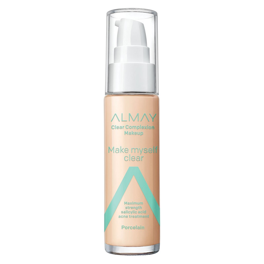 Image of Almay Clear Complexion Makeup 099 Porcelain - 1oz