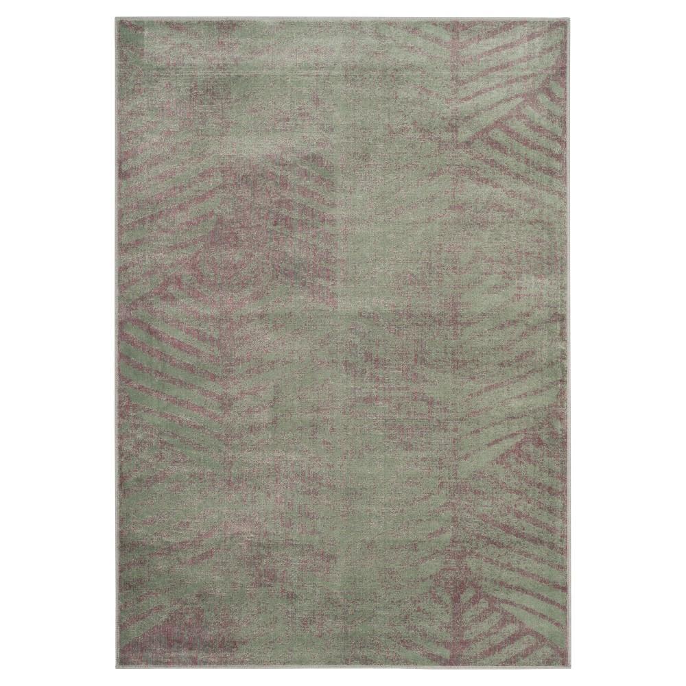 Marigot Vintage Area Rug - Light Gray ( 4' X 5' 7 ) - Safavieh, Blue