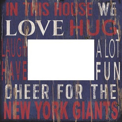 NFL Fan Creations 10x10 in. This House Frame