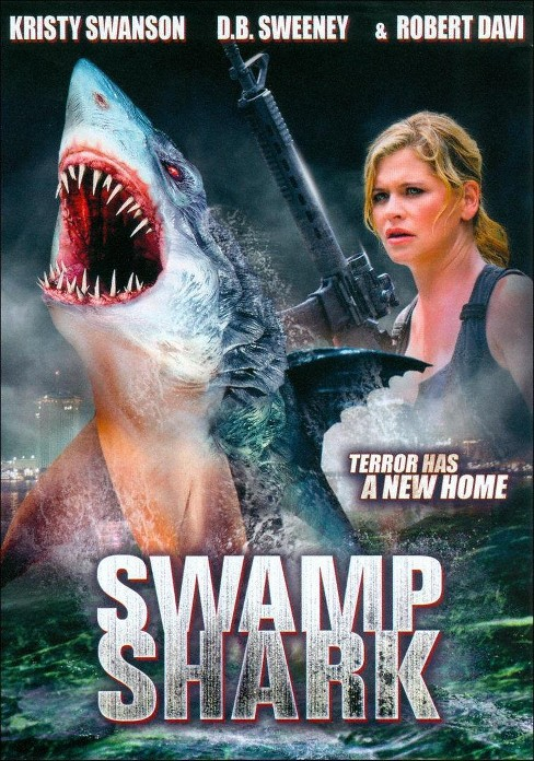 Swamp shark (DVD) - image 1 of 1