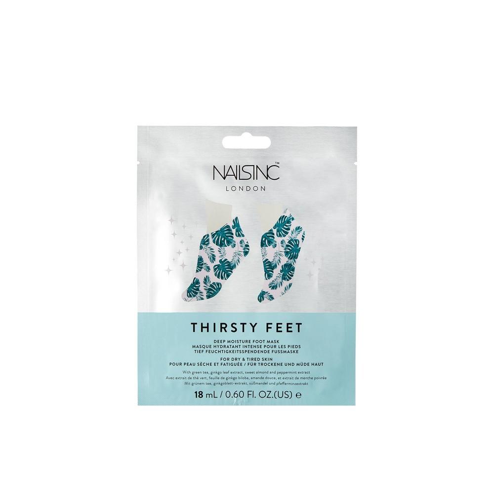 Image of Nails Inc Thirsty Feet Deep Moisture Foot Mask – 0.6 fl oz