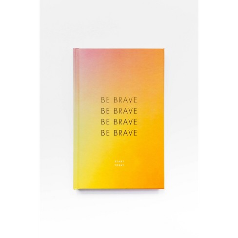 Be Brave Journal - Target Exclusive Edition by Rachel Hollis (Hardcover) - image 1 of 4