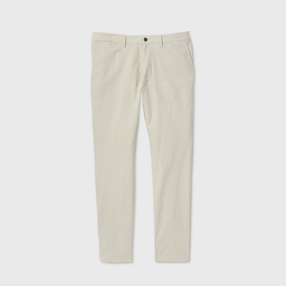 Men 39 S Tall Athletic Fit Hennepin Chino Pants Goodfellow 38 Co 8482 Ivory 38x36