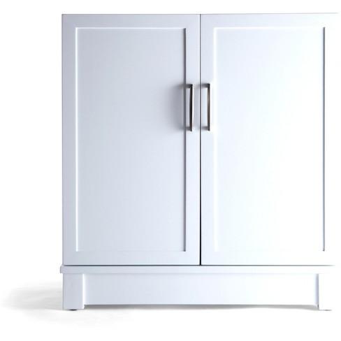 Patrick Storage Cabinet White - Hives & Honey - image 1 of 4