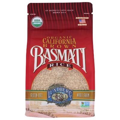Lundberg Organic Long Grain California Brown Basmati Rice - 2lbs