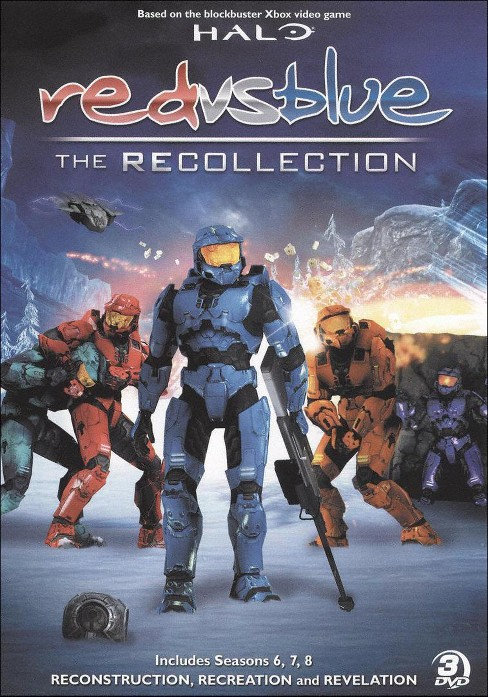 Red vs blue:Recollection collection (DVD) - image 1 of 1