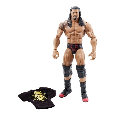 wwe nxt takeover roman reigns elite collection action figure target