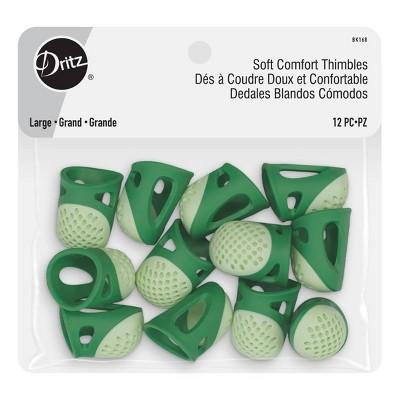 Dritz 12ct Large Soft Comfort Thimbles