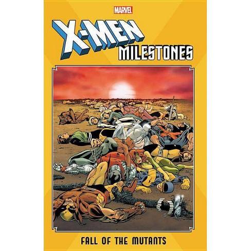 X-Men Milestones: Fall of the Mutants - (Paperback) - image 1 of 1