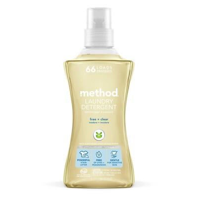 method Free + Clear Laundry Detergent -  53.5 fl oz