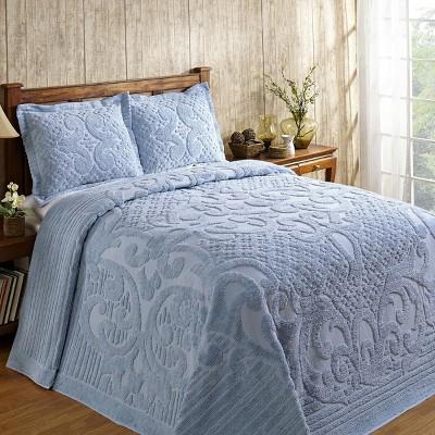 Ashton Collection 100% Cotton Tufted Unique Luxurious Medallion Design Bedspread - Better Trends