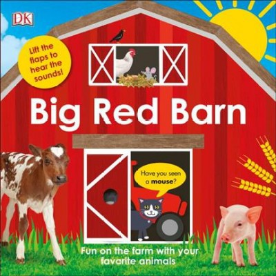Big Red Barn - by Carrie Love (Hardcover)