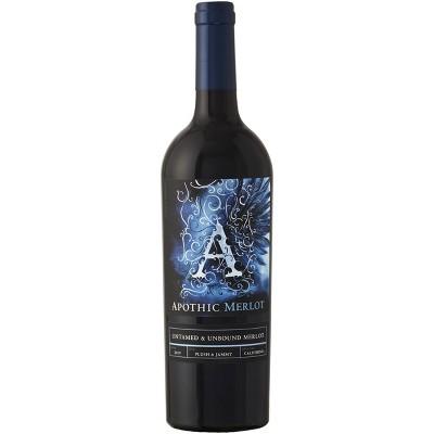 Apothic Merlot Red Wine - 750ml Bottle