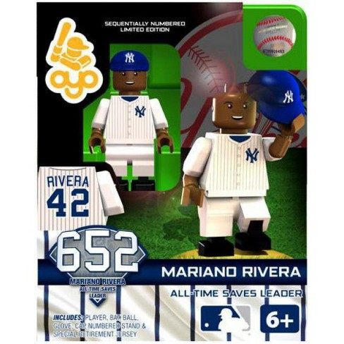 New York Yankees MLB Generation 2 Limited Edition Mariano Rivera Minifigure [All-Time Saves Leader] - image 1 of 2
