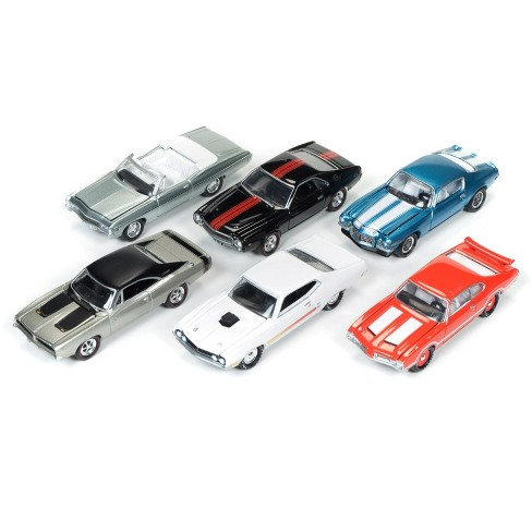 Muscle Cars Usa 2017 Set Of 6 Cars Release C 1 64 Diecast Model Cars