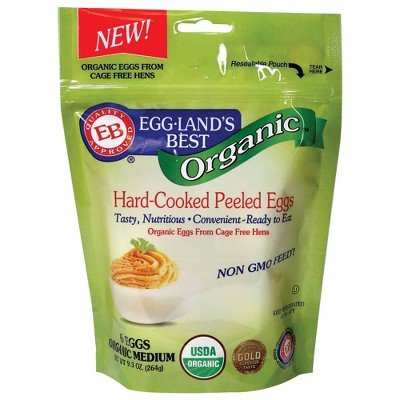 Eggland's Best Organic Hardcooked Eggs - 6ct