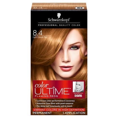 Schwarzkopf Color Ultime Flaming Reds Hair Color 8 4 Light Copper