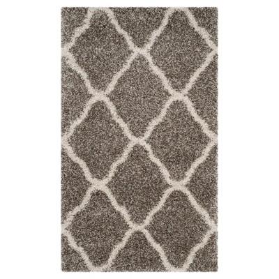 Hudson Shag Rug - Gray/Ivory - (3'X5')- Safavieh®