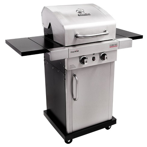 char broil signature tru infrared stainless steel 2 burner gas