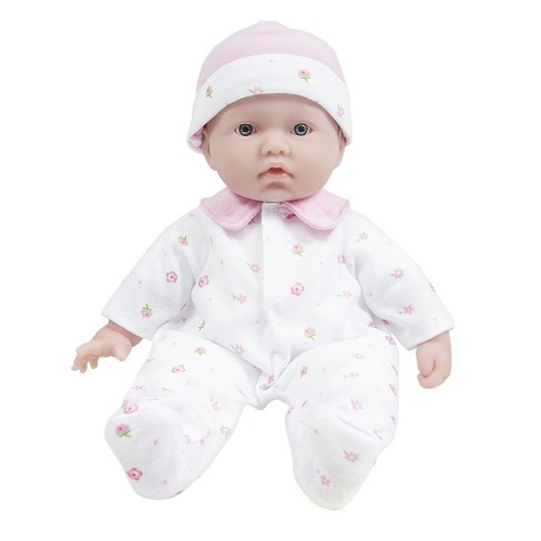 "JC Toys La Baby 11"" Soft Body Baby Doll - Pink - image 1 of 7"
