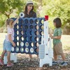 ECR4Kids Jumbo Four-To-Score Giant Game-Indoor/Outdoor 4-In-A-Row Connect - Navy and White - image 4 of 4
