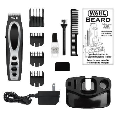 Wahl Beard & Stubble Rechargeable Men's Beard & Facial Trimmer - 5598