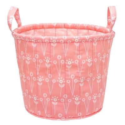 Quilted Storage Bin Floral - Cloud Island™ - Pink