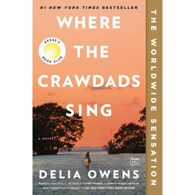 Where The Crawdads Sing - by Delia Owens (Paperback)