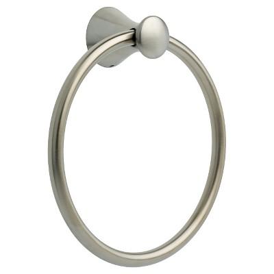 Franklin Brass Somerset Towel Ring - Satin Nickel
