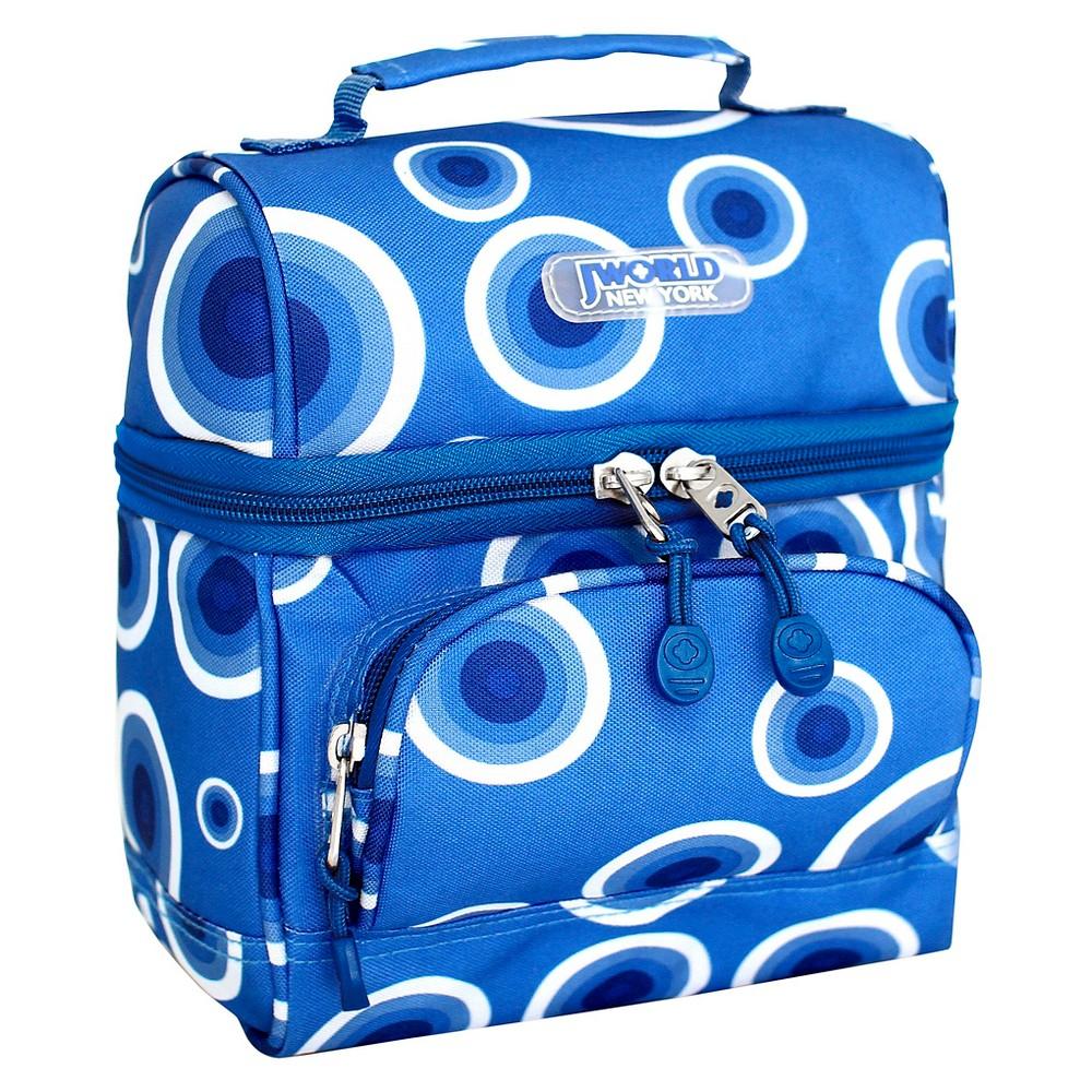 Image of J World Corey Lunch Bag with Front Pocket - Target Blue