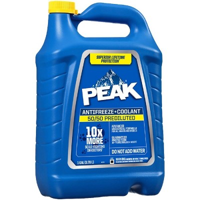 PEAK 1gal 50/50 Long Life Prediluted Antifreeze and Coolant