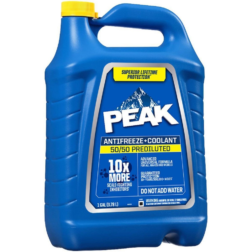 Peak 1gal 50 50 Long Life Prediluted Antifreeze And Coolant