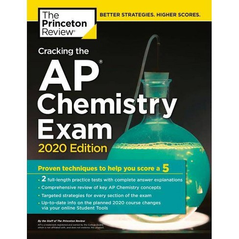 Cracking the AP Chemistry Exam, 2020 Edition - (College Test Preparation)  by The Princeton Review