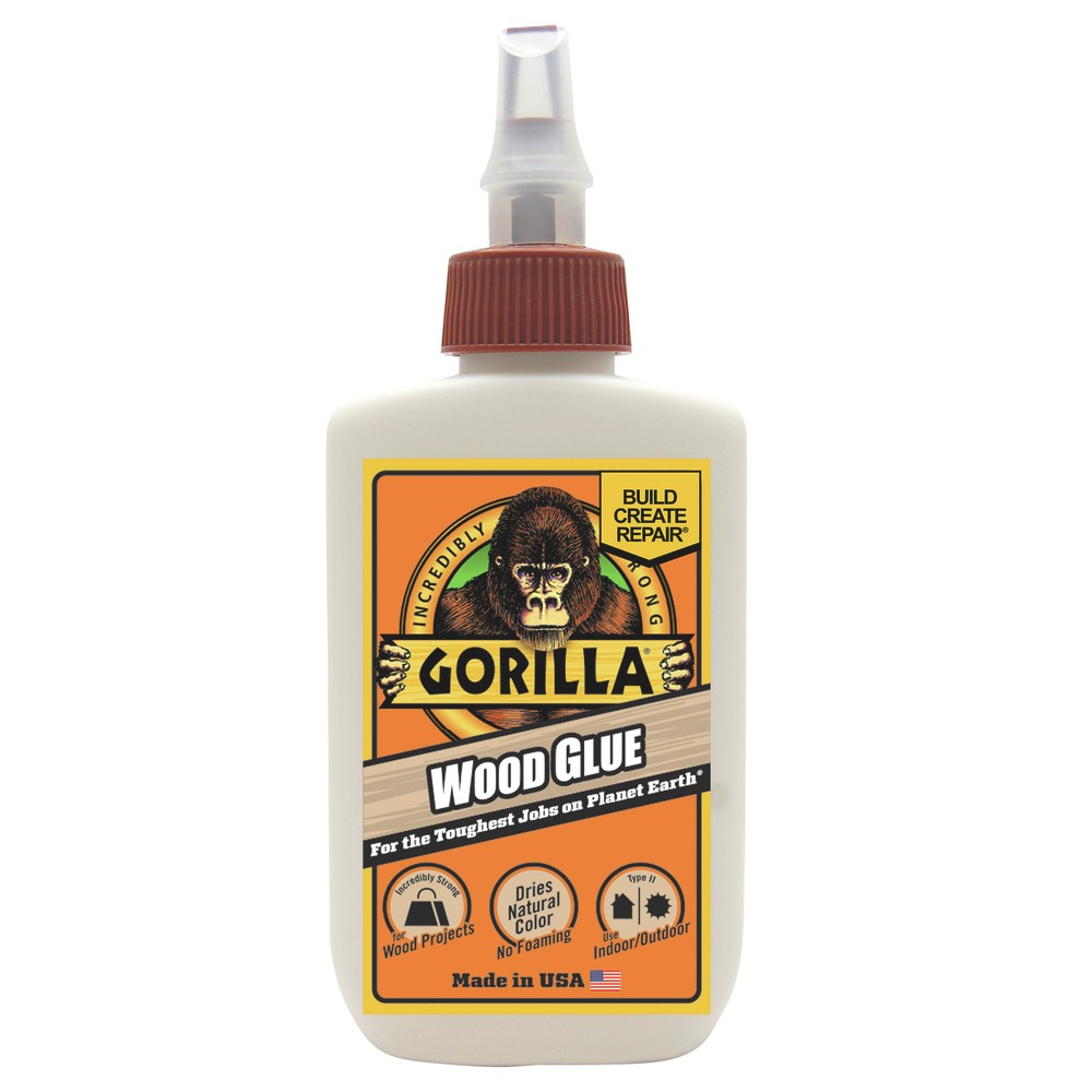 Image of Gorilla Wood Glue 4oz - Tan, Beige