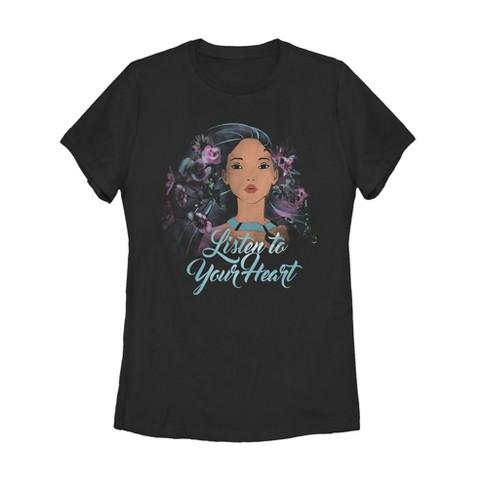 Women's Pocahontas Watercolor Wind T-Shirt - image 1 of 1
