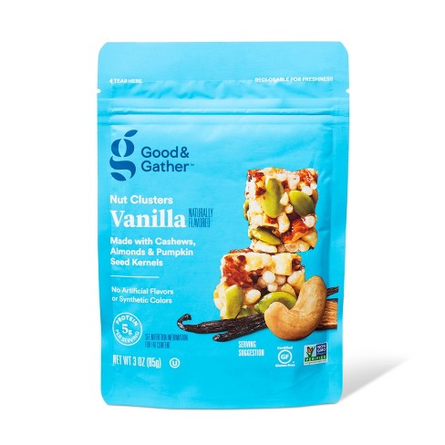 Vanilla Nut Clusters - 3oz - Good & Gather™ - image 1 of 3
