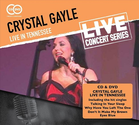 Crystal gayle - Crystal gayle:Live in tennessee (CD) - image 1 of 1