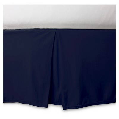 Burt's Bees Baby® Organic Fitted Crib Skirt - Solid - Blueberry