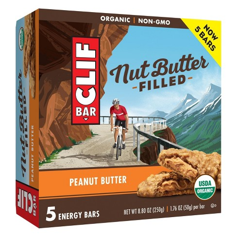 CLIF Bar Peanut Butter Filled Energy Bars - 8.8oz - image 1 of 5