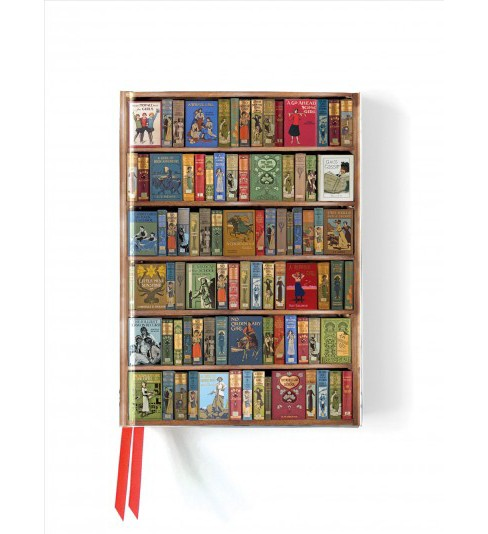 Bodleian High Jinks Bookshelves Foiled Journal (Hardcover) - image 1 of 1