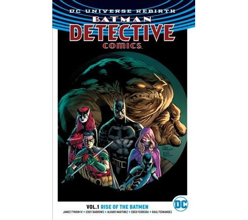 Batman Detective 1 : Rise of the Batmen (Paperback) (IV James Tynion) - image 1 of 1