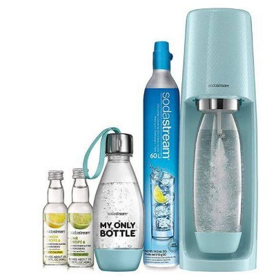 SodaStream Fizzi Sparkling Water Maker Value Bundle - Icy Blue