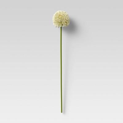 """24"""" Artificial Allium Plant Stem White - Threshold™"""