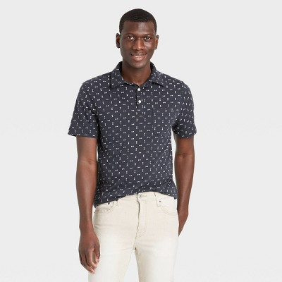 Men's Regular Fit Short Sleeve Collared Polo Shirt - Goodfellow & Co™