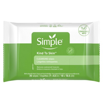 Facial Cleansing Wipes: Simple Kind to Skin Cleansing Wipes