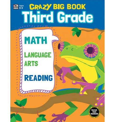 Crazy Big Book Third Grade Paperback Target